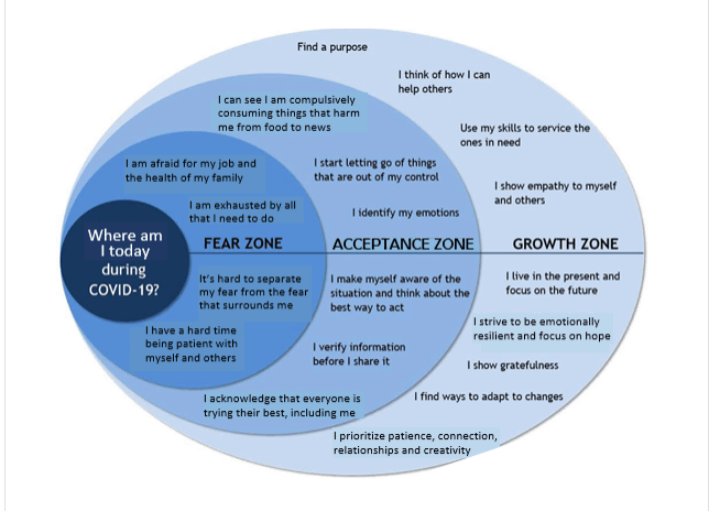 covid 19 zones graphic - How to Safely Reopen Your Life after COVID-19: Part 1